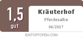 Testsiegel: Kräuterhof Pferdesalbe