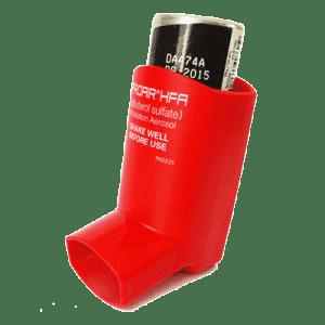 Ein Asthmaspray